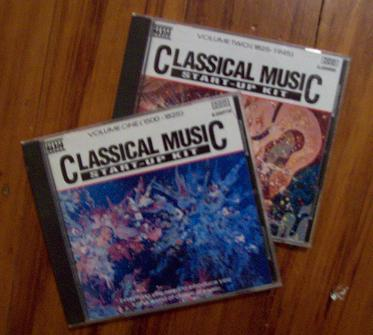 Classical music startup CDs