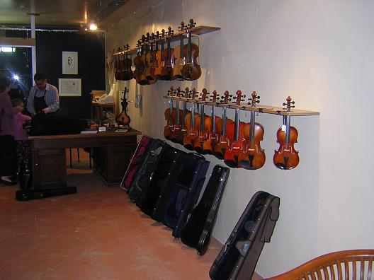 luthiers shop